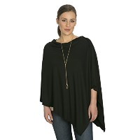 Bamboobies Chic Nursing Shawl - Nursing Cover for Maternity and More, Black by Bamboobies