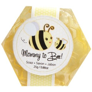 Kate Aspen Honey Scented Honeycomb Soap, Mommy To Bee by Kateaspen