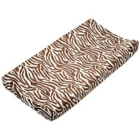 Carter's Velour Changing Pad Cover, Zebra by Carter's