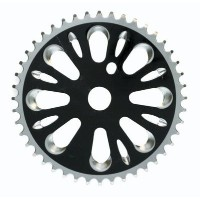 CHAINRING BK-OPS 1pc 44T 3/32 STL BK by Black Ops