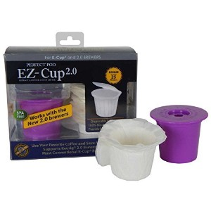 ez-cup 2.0by Perfect Pod for Keurig 2.0- k200、k300、k400、k500シリーズとすべて1.0Brewers