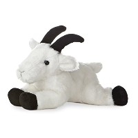 "Rocky Mountain Goat Mini Flopsie 8"" by Aurora by Aurora"