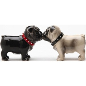 Little Love Pugs Salt & Pepper Shaker Set S / P