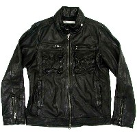 Rhyme(ライム) RH-7046 Leather Zip Jacket【SALE】