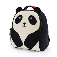 Dabbawalla Bags Preschool & Toddler Panda Backpack, Black/White by Dabbawalla Bags
