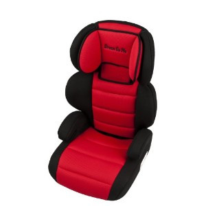 Dream On Me Deluxe Turbo Booster Car Seat, Red by Dream On Me