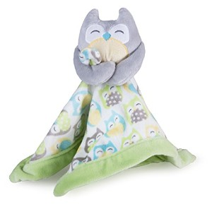 Carter's Security Blanket, Grey Owl (Discontinued by Manufacturer) by Carter's