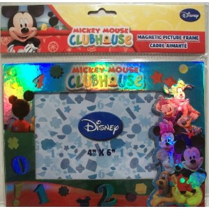 1 X Mickey Mouse Clubhouse Magnetic Picture Frame (4x6 In) by Disney