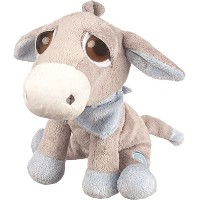 Suki Baby L'il Peepers Pablo Donkey Soft Boa Plush Toy With Press Activated