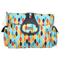 Kalencom Elite Diaper Bag, Honeycomb Orange by Kalencom
