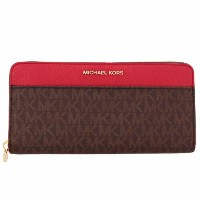 MICHAEL KORS マイケルコース 財布 長財布 32T7GM9E3B 268 BRN/BRT RED micc