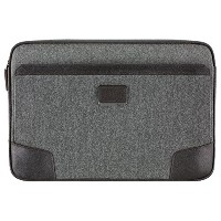 TUMI コーティング キャンバス タブレット カバー (グレー/ブラウン) for Surface Book / Surface Laptop