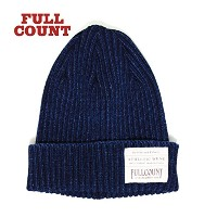 フルカウント FULLCOUNT INDIGO RIB WATCH CAP 6817 メンズ INDIGO FREE