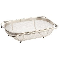 Amco Over the Sink Colander, Stainless Steel by Amco