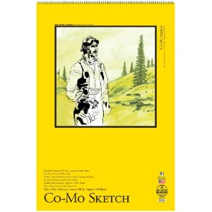 Bee Paper Co-Mo Sketch Pad, 24-Inch by 36-Inch by Bee Paper Company