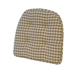 Klear Vu GripperティーポットChairpad 17-Inch Length by 16-Inch Width by 2-Inch Height ブラウン 41402-12