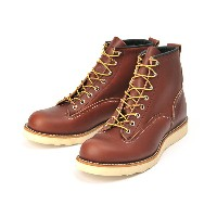 【RED WING】 レッドウィング 6 LINEMAN BOOTS 6インチ ラインマンブーツ 2924 ABC-MART限定 RED BROWN