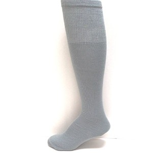 Midweight solid-color tube-sock、大人サイズ21色 L グレー