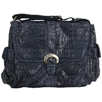 Kalencom Diaper Bag, Crocodile Navy by Kalencom