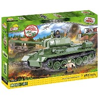 Cobi Small Army ミリタリーブロック WWII 第二次世界大戦 ソビエト軍 T-34/85 中戦車 T-34/85 m 1944 (New Version) #2476 ...