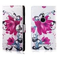 32ndテつョ Design book wallet PU leather case cover for Nokia Lumia 1320, including screen protector...