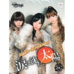 AKB48 重力シンパシー第4弾クリアファイル~涙に沈む太陽~ホール限定品
