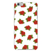 【送料無料】 uistore 「excellent rose (white)」 / for iPhone 6 Plus/Apple 【SECOND SKIN】【ハードケース】アップル iphone6...