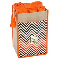 10 Large Reusable Grocery Shopping Bags in 1 Premium Compact Organizer. Durable, Stylish, Eco...