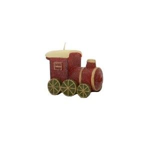 Fantastic Craft Train Candle, 5 by 3-1/4-Inch [並行輸入品]