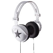 MIXSTYLE HEADPHONES STAR ホワイト MIX-260037
