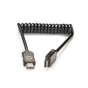 《新品アクセサリー》 ATOMOS (アトモス) ATOMFLEX PRO HDMI COILED CABLE (Full to Full 30cm)【KK9N0D18P】