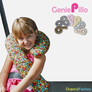[Organic Factory]★GeniePillo Light★Car Pillow Seat Belt Cushion Shoulder Head Pad Support Child...