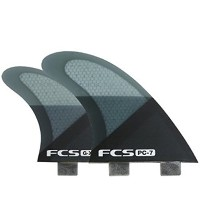 FCS FIN PC-7 SMOKE SLICE QUAD FINSET FCS クアッドフィン