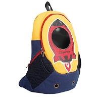 [Dogismile] Spaceship Pet Backpack Carrier 宇宙船ペットキャリアバックパック猫犬 [海外直送品] (Yellow)