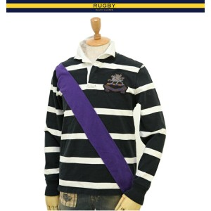 RUGBY by RL Men Classic Rugby Fit Rugby Shirt ラルフローレン ラグビー ラガーシャツ