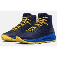 Under Armour UA Drive 4 キッズ/レディース Midnight Navy / Taxi アンダーアーマー バッシュ ドライブ 4 カリー Stephen Curry ステフィン...