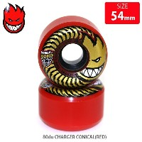 SPITFIRE スピットファイア WHEEL 80du CHARGER CLASSIC RED SFW-785 54mm スケートボード ソフト ウィール