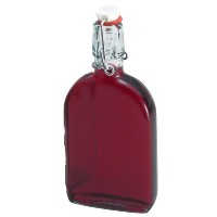 Padova Sloe Gin Flat Bottle With Swing Stopper
