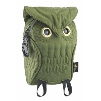 【MORN CREATIONS】OWL Pouch(Green)ミミズクポーチ(グリーン)