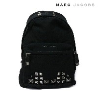 MARC JACOBS(マークジェイコブス) バックパック/リュックサック 『Canvas Chipped Studs Backpack』 (001 BLACK/ブラック)M0008912-001...
