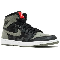 "Air Jordan 1 Retro High Premium ""Camo Pack""メンズ Black/Black/Dark Stucco/White/University Red ジョーダン..."