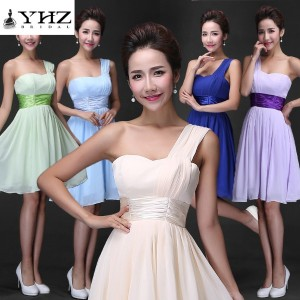 [Free Shipping]ONE SHOULDER SPECIAL OCCASION DRESS | BRIDESMAIDS DRESS | PARTY DRESS | FORMAL DRESS