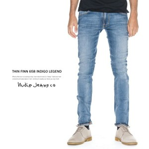 Nudie Jeans ヌーディージーンズ THIN FINN シンフィン 634.CLEAR CONTRAST スキニー スキニージーンズ 112125 6296