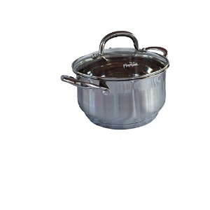 Parini署名シリーズ4.0 QT。Dutch Oven with lid-stainless