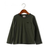 WEB限定【キッズ】LEE(リー) クルーネック ポケット Tシャツ【グリーンレーベルリラクシング/green label relaxing キッズ Tシャツ・カットソー OLIVE ルミネ...