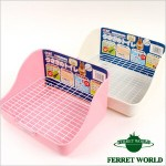 GEX うさぎのトイレ四角タイプ(フェレット使用OK) フェレット/トイレ/衛生用品