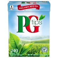 PG Tips Black Tea, Pyramid Tea Bags, 240-Count Box (Pack of 2) by PG Tips