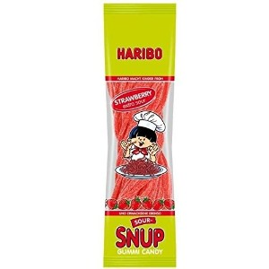 Haribo Sour Snup Strawberry 200 g