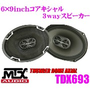 MTX Audio THUNDER DOME AXIAL TDX693 6×9inch(15.2×22.8cm) コアキシャル2wayスピーカー