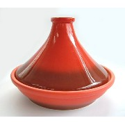 特大タジン鍋・赤 日本製 (直径 26.5cm)Tajine Red made in Japan (Diameter 26.5cm)